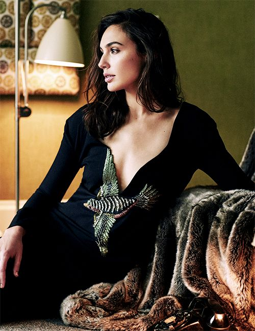 """aarontaylorjohnson: """" Gal Gadot photographed by Marian Sell for Vogue Russia, September 2015 """""""