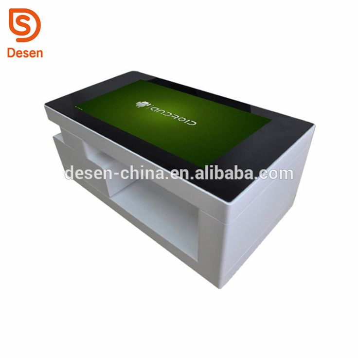 2018 43inch Lcd Interactive Touch Screen Digital Signage Display Table for Game Advertising Exhibition