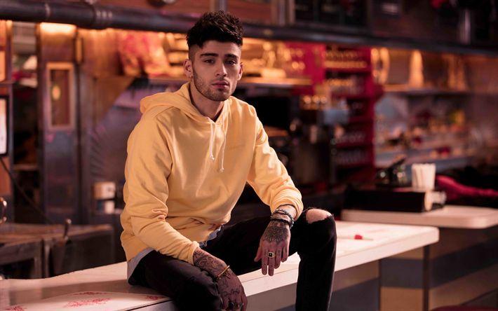 Download wallpapers 4k, Zayn Malik, 2018, photoshoot, Penshoppe, british singer, superstars, guys
