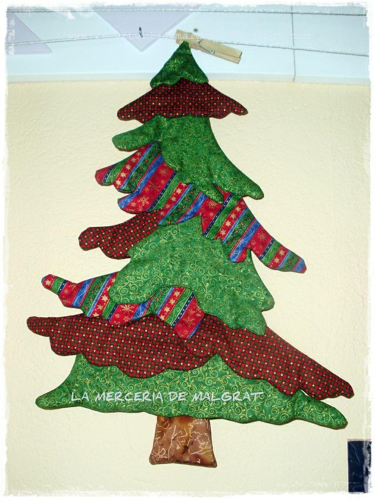 Panel de árbol navideño