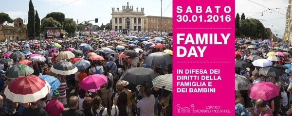 Family Day a Roma il 30 gennaio - http://www.nuovefrontiere.org/events/family-day-a-roma-il-30-gennaio/