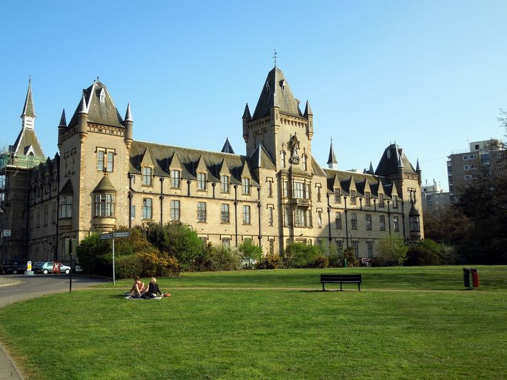 Royal Victoria Patriotic Building, a magnificent Grade II listed Victorian Gothic building on the edge of Wandsworth Common, South West London.