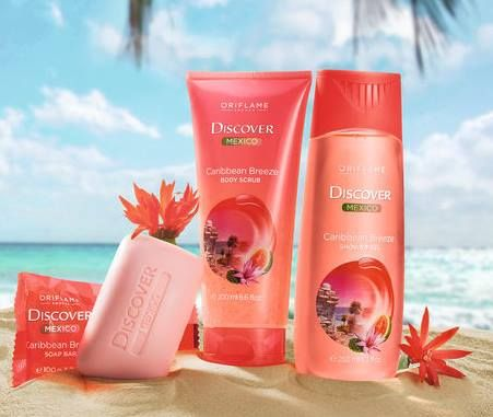 Discover Mexico bodycare by Oriflame