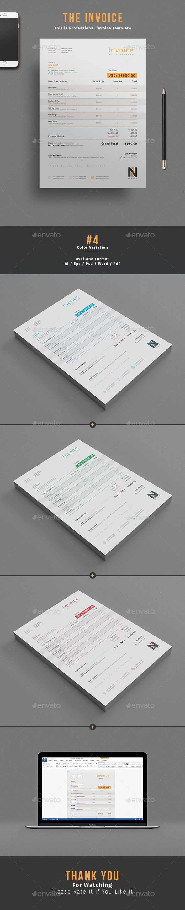Invoice Proposals u0026 Invoices StationeryDownload here