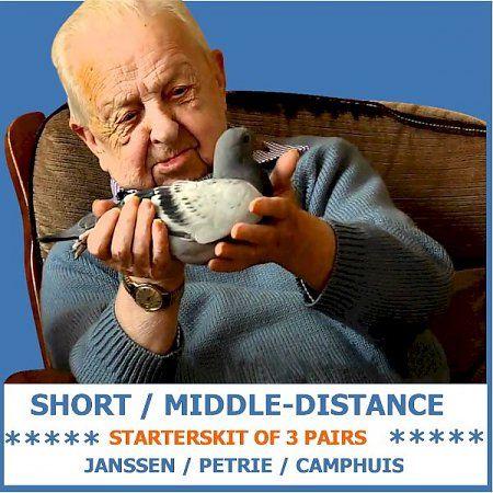 Jaap Ramsteijn Short / Middle-distance Starters Kit III