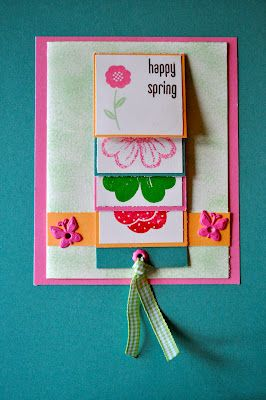 Guest Post: Waterfall Card!  {from: Hope In Every Season}
