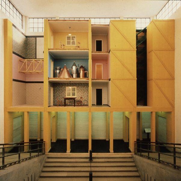 Aldo rossi teatro domestico triennale 1986 aldo rossi for Giorgio aldo interior designs