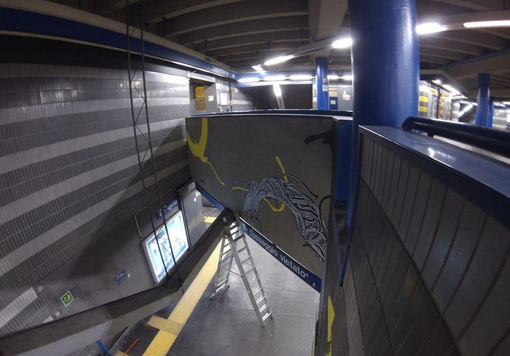 Metro Rebibbia - Cables series