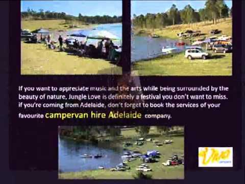 ▶ Campervan Hire Adelaide-Road Trip to the Jungle Love Festival QLD - YouTube