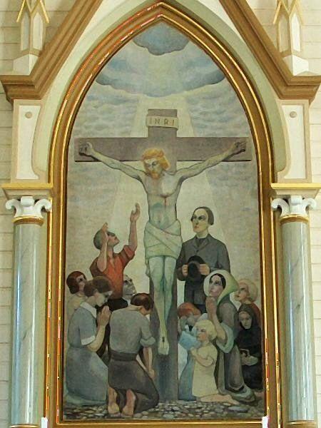 Pyhäjärven kirkko, alttaritaulu