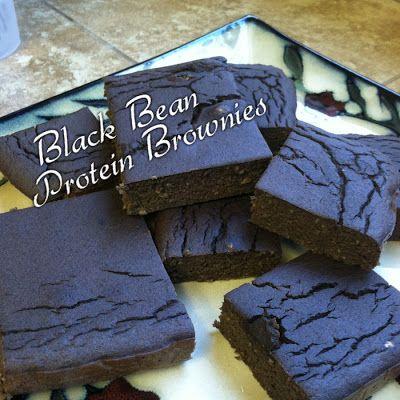 Black Bean Protein Brownies