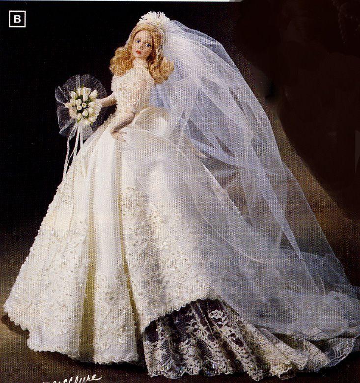 cindy mcclure bride dolls | ... Melody Bride Doll by Cindy Mcclure 1998 Ashton Drake | CINDY MCCLURE