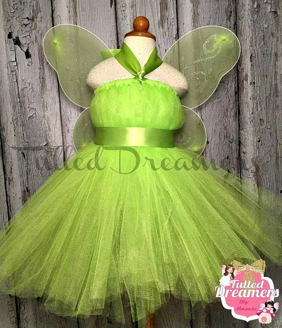tinkerbell costume-tinkerbell-tinkerbell by TulledDreamers on Etsy