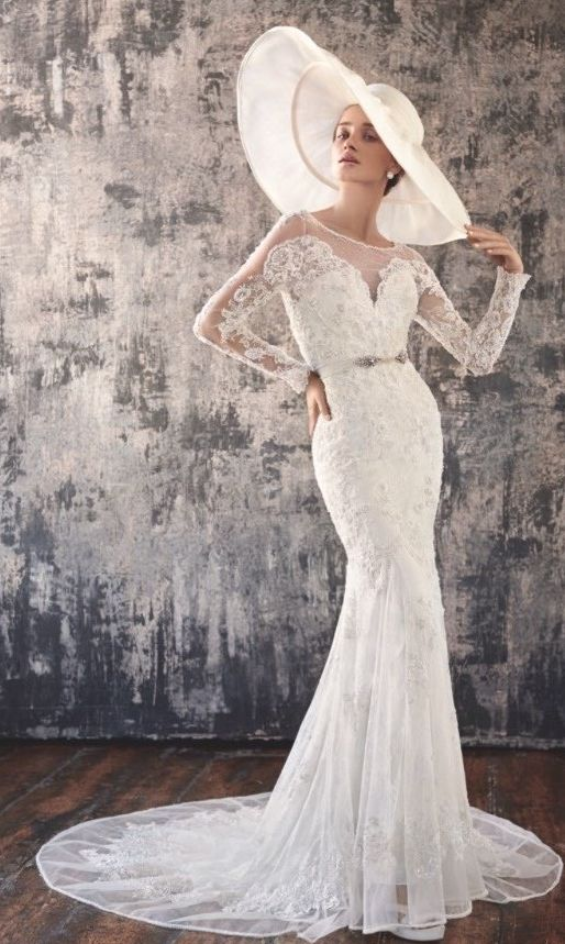 Lusan Mandongus wedding dress