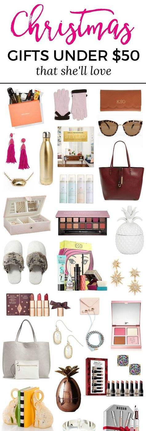 The Best Christmas Gift Ideas For Women Under 50 Gifts