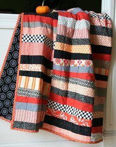 Halloween Quilt, Cluck Cluck Sew
