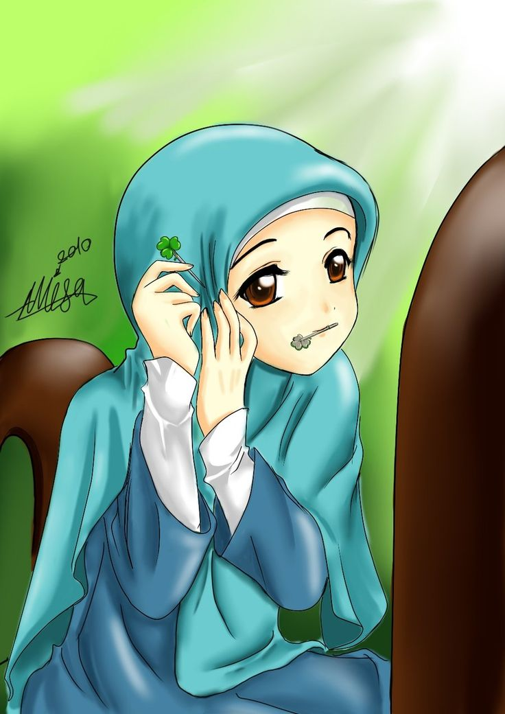 Muslim Girl Putting On Hijab - Hijab Pinner!