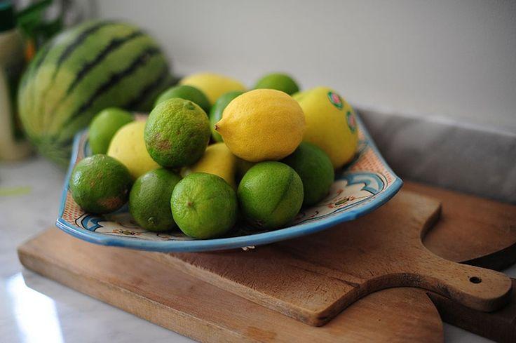 Fruktfat, skärbrädor