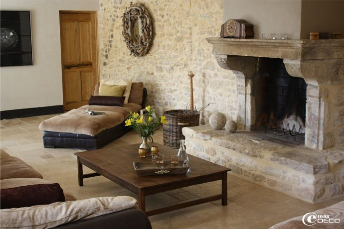 Fire placeDecor, De Provence, Cozy Cottages, Awesome Fireplaces, Grand Fireplaces, Dreams House, France, Concrete Floors