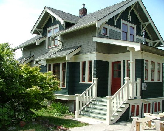 63 best House Paint Colors for Craftsman images on Pinterest