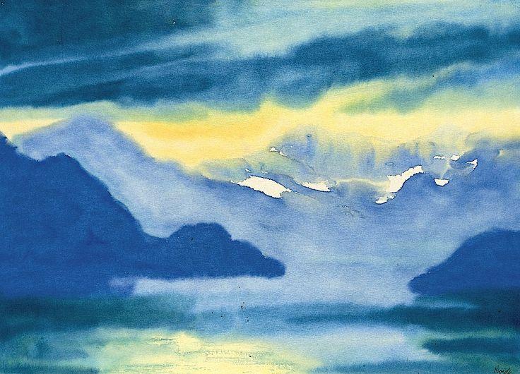 EMIL NOLDE (1867-1956) Langensee (Lago Maggiore)