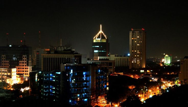 Surabaya di malam hari Indahnya kota surabaya #pinyourcity Contest: I Love Surabaya