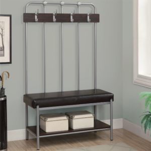 Contemporary Hall Storage Bench