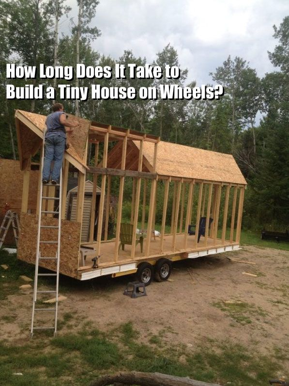 Q A How Long Does It Take To Build A Tiny House Tiny