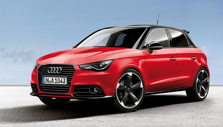 #red #Audi #car