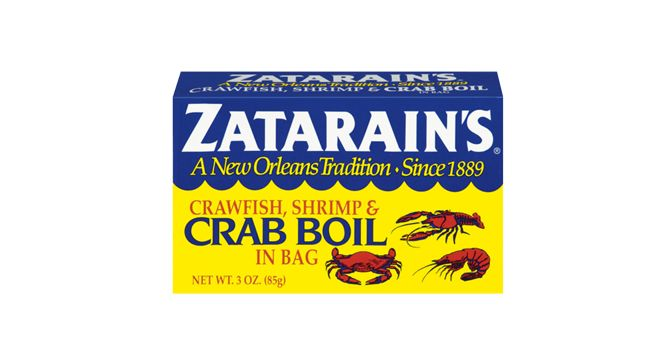 The original Zatarain's Crawfish, Shrimp & Crab Boil with seven spices and seasonings in a convenient boil-in bag. One bag, plus salt to taste, perfectly seasons up to four pounds of crawfish and shrimp or up to one dozen crabs. This is the secret ingredient in everyone's favorite boil.