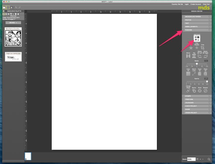 My digital Studio (MDS) Label erstellen und ausdrucken