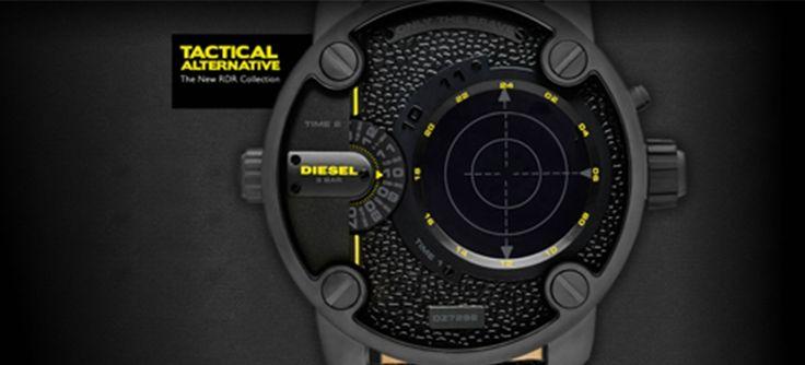 7 Crazy Oversize Diesel Watches For Men 2016