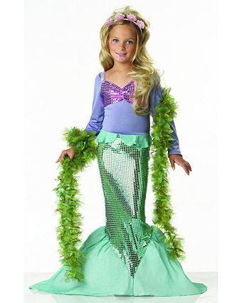 Little Mermaid Child Costume | Wholesale Mermaid Halloween Costume for Girls