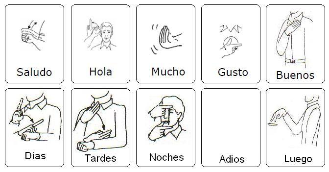 Compartir Signos (SORDOS): Saludos (LSM)