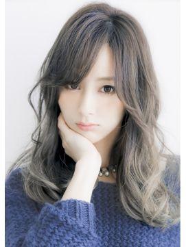 リビング ユー Livingu you 2014ヘアカラー☆透明感アッシュグラデーションカラー☆中間隆宏