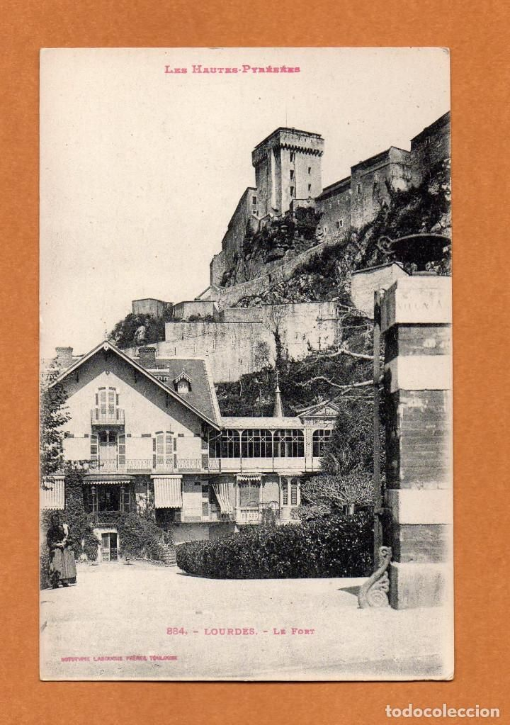 FRANCIA - LES HAUTES PYRENEES - LOURDES - LE FORT - AÑOS 10 - ED LABOUCHE - Nº 884- (Postales - Postales Extranjero - Europa - Francia)