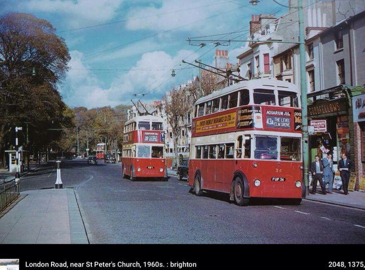 Trolley bus Brighton