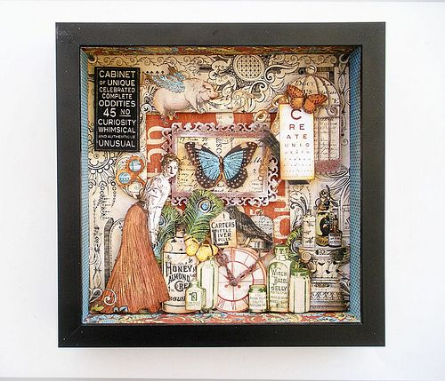 1000 Images About Shadowbox Amp Paper Theater On Pinterest