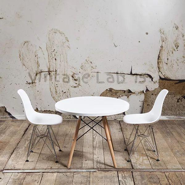 Moderne tafels : CTW kindertafel junior wit - Vintagelab15.com