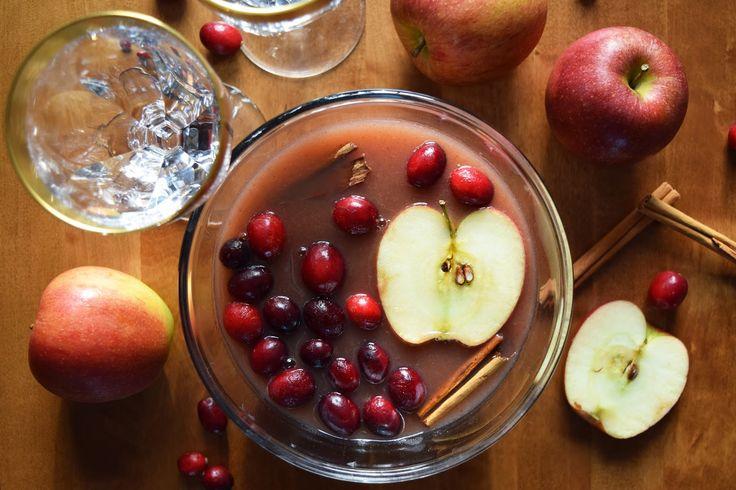 Silent Joy: Spiced apple rum Punch