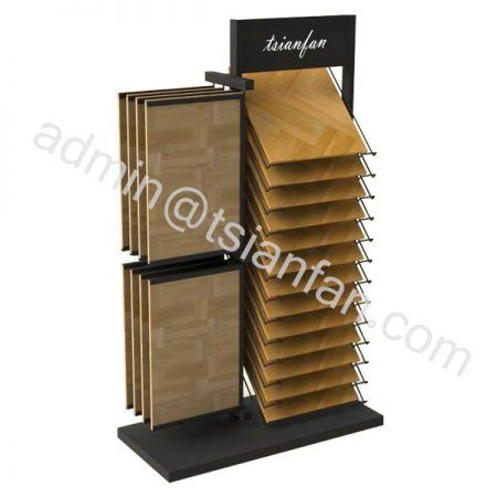 WD652 Wholesale cheap laminate flooring waterfall display for laminate floor tiles manufactures
