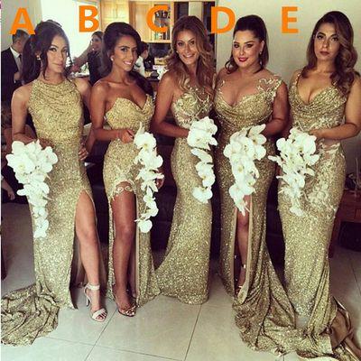 long sequin bridesmaid dresses ,mermaid bridesmaid dresses ,sparkly bridesmaid…