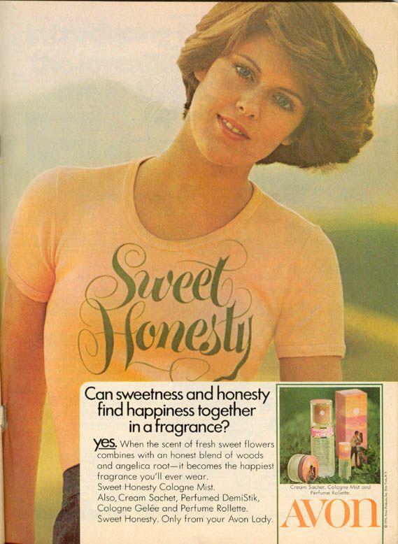 Sweet Honesty - my favorite perfume in the 70's!