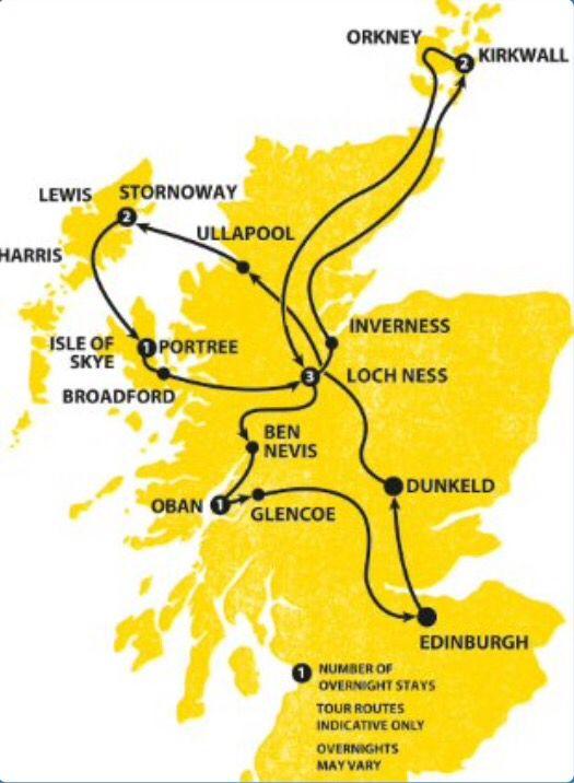 Haggis Tours - Compass Buster, Scotland.
