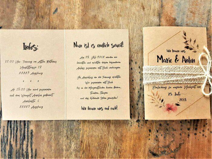 Hochzeit Einladung Text Bildergalerie Mit Beispielen Ideen Einladung Hochzeit Text Hochzeitseinladung Einladungen Hochzeit