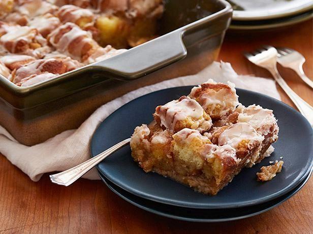 Cake Doughnut Bread Pudding | Recipe