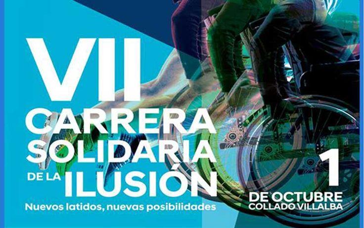 C. Villalba acoge el 1 de octubre de la 'VII Carrera Solidaria de la Ilusión', a favor del Daño Cerebral Adquirido, organizada por la Fundación Pita López.