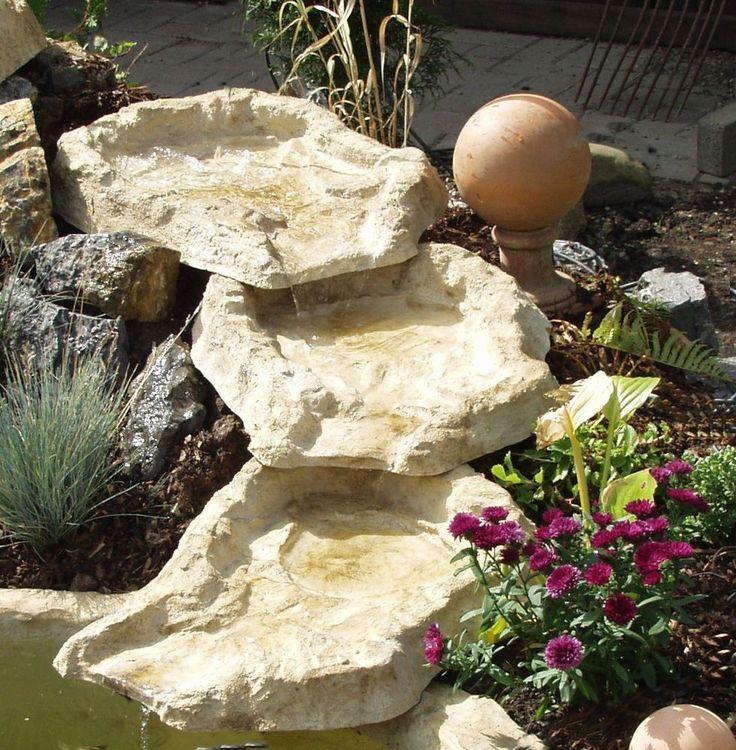 EDER SUPER Wasserfall  Bachlauf 3Tlg NEUWARE TOP in Garten & Terrasse, Teiche, Bachläufe und Brunnen, Bachläufe & Wasserfälle | eBay!