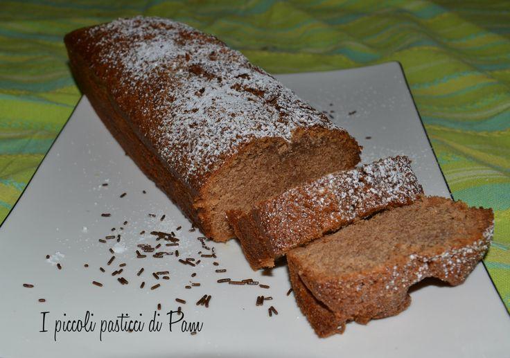 Plumcake al cioccolato e caramello con lievito madre, ricetta golosa