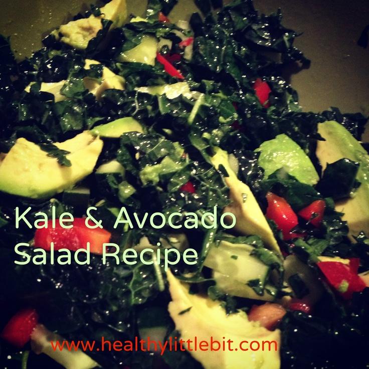 my favorite kale & avocado summer salad recipe